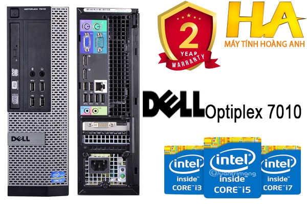 Cấu Hình 03: Dell Optiplex 7010 sff/ Core i3 3240, Dram3 4Gb, HDD 500Gb